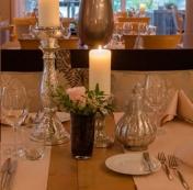 Candlelight-Arrangement für Verliebte für 2 Personen